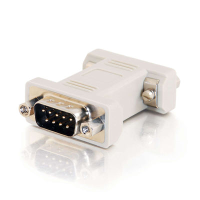 C2G 02770 DB9 Male to DB9 Female Port Saver Adapter