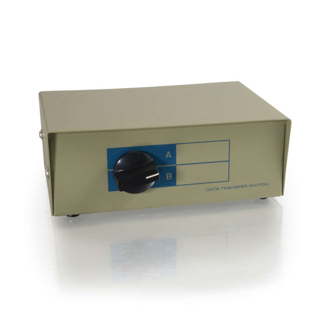 C2G 03289 2-Port DB25 Manual Switch Box