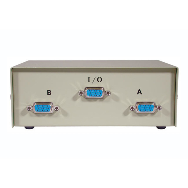 C2G 03364 2-Port HD15 VGA Manual Switch Box