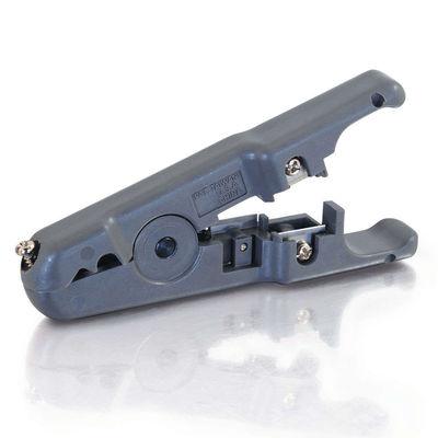 Round/Flat Multi-Conductor Cutter and Stripper
