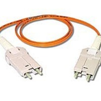 10m FDDI/FDDI Duplex 62.5/125 Multimode Fiber Patch Cable - Orange