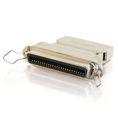 External SCSI-1 C50 Female to SCSI-2 MD50 Male Adapter