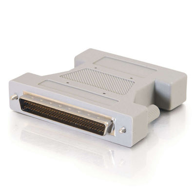 External SCSI-3 MD68 Male (Latch) to SCSI-2 MD50 Female Adapter
