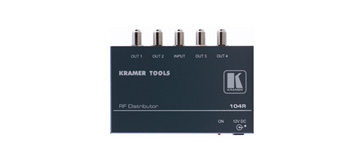 Kramer 104R 1:4 RF Distribution Amplifier