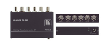 Kramer 105VB 1:5 Composite Video Distribution Amplifier