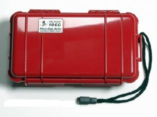 Pelican 1060 Watertight and Crushproof Micro Case - Red