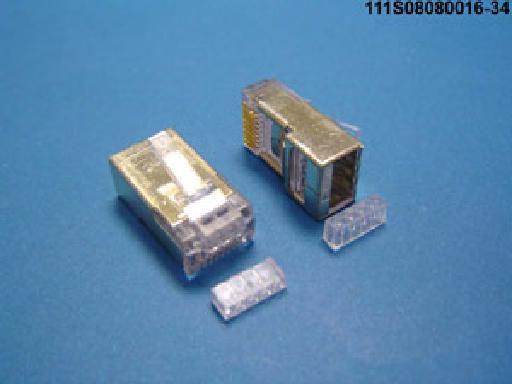 Liberty 111S08080016-34 8P8C L5E Oashed RJ45 Plug