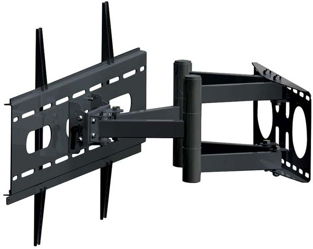 A-V Mounts AVM-PS-P15-BK Articulating Dual-Arm Wall Mount