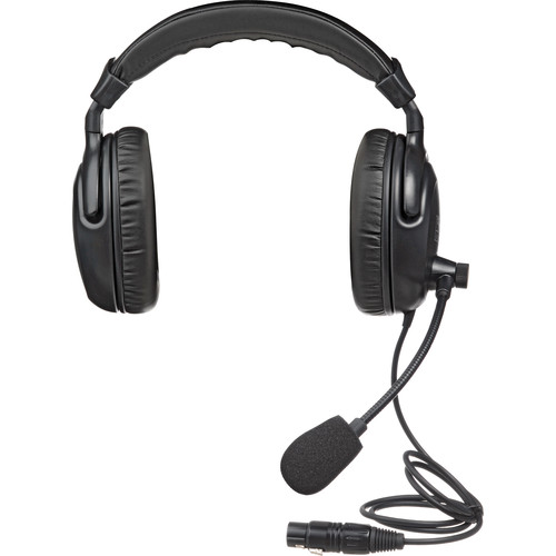 Anchor H-2000 - PortaCom Dual Earpiece Headset w/ Noise Cancelling Mic