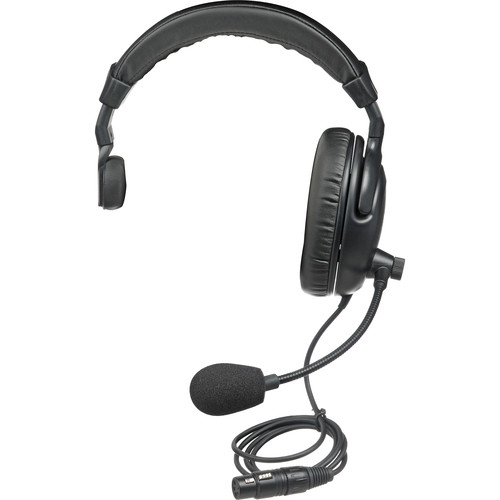 Anchor H-2000S PortaCom Single Sided Headset, Noise-Cancelling Mic