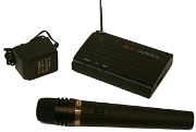 Amplivox S1620 Wireless VHF Handheld Microphone Kit