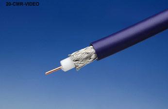 Liberty 20-CMR-VIDEO-BLK Serial Digital CMR RG59 HD Coax Cable, Black
