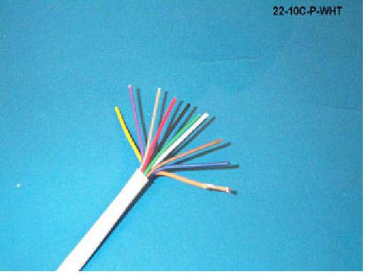 22AWG 10 Conductor, General Purpose Cable