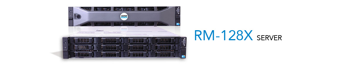 SAFARI Montage RM-128X 12-Bay Rackmount Server