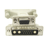 13W3 Male to HD15 Female Pinning Adapter