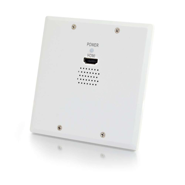 C2G 29258 TruLink 1-Gang HDMI over Cat5 Wall Plate Receiver - White