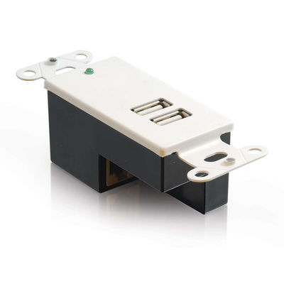 2-Port USB Superbooster Wall Plate - Receiver