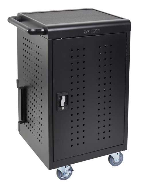 Luxor LLTM30-B 30 Tablet Charging Rolling Cart