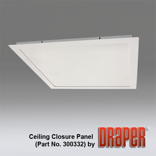 Draper AeroLift 100 Ceiling Closure Panel