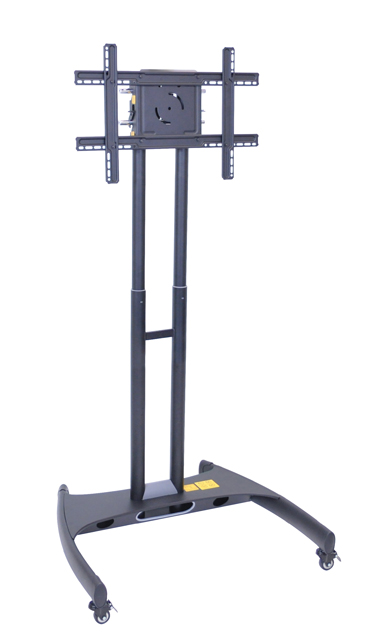 Luxor FP2000 Adjustable Height Rolling Flat Panel Cart