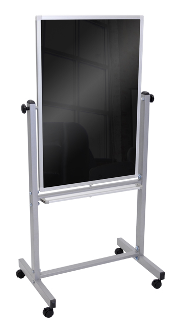 Luxor BM3040M Double Sided 30x40 Mobile Black Board