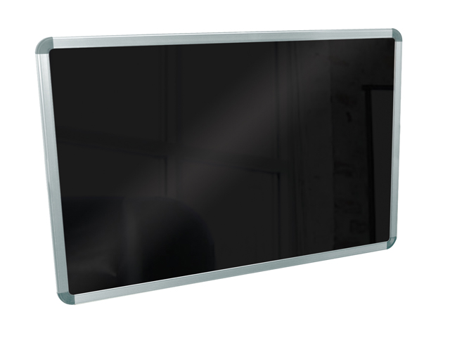 Luxor BW4030M 30in.x40in. Wall Mounted Black Board