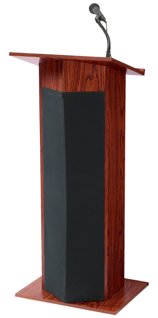 Oklahoma Sound 111PLS-MY The Power Plus Lectern (Mahogany)