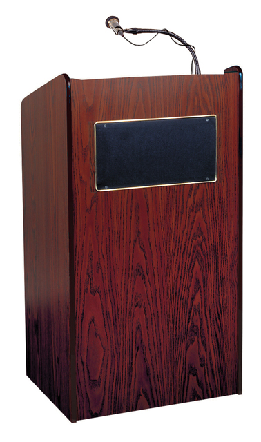 Oklahoma Sound 6010-MY The Aristocrat Sound Lectern (Sound, Mahogany)