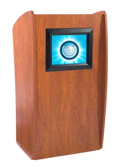 Oklahoma Sound 612 The Vision Lectern (with Screen, Non-Sound)