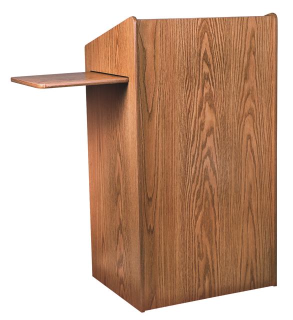 Oklahoma Sound 600-MO The Aristocrat Non-Sound Lectern (Medium Oak)