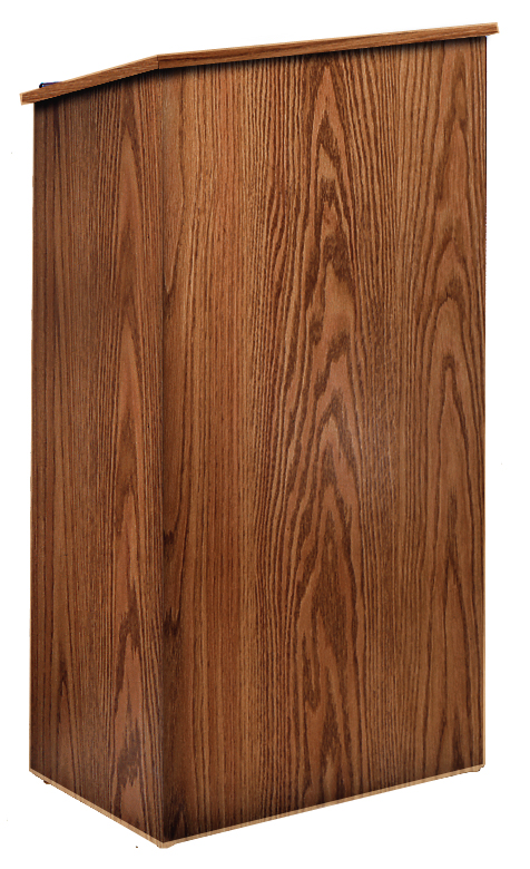 Full Floor Lectern (Walnut)