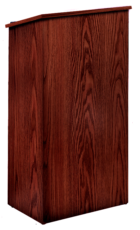 Oklahoma Sound 222-MY Full Floor Lectern (Mahogany)