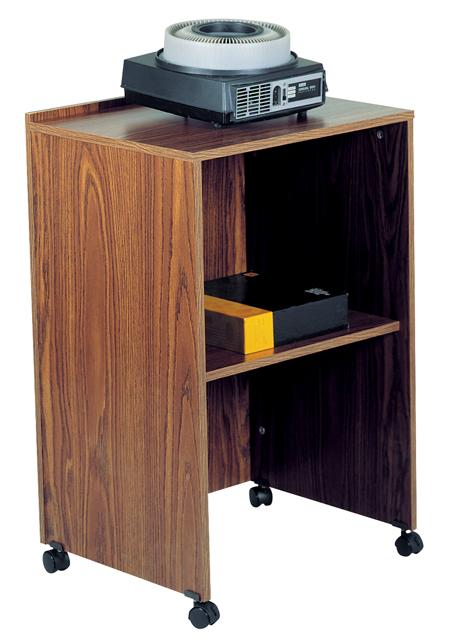 Oklahoma Sound 112-MO AV Cart/Lectern Base (Medium Oak)