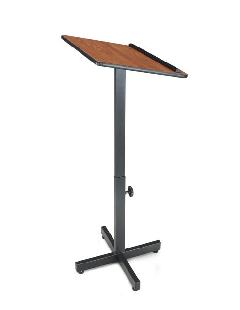 Oklahoma Sound 70-CH Portable Presentation Lectern Stand (Cherry)