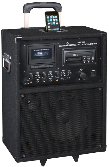 Product Oklahoma Sound Pra 7000 Pro Audio 100 Watt Pa System