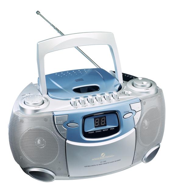 Oklahoma Sound LC-1300 CD/Tape Player