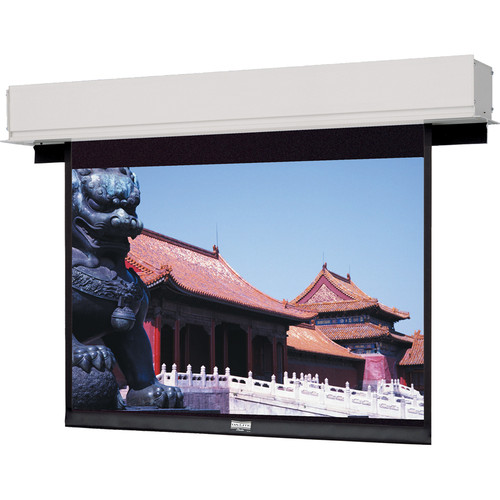 Da-Lite 34580 164in Advantage Deluxe Electrol Motorized Screen, Matte White