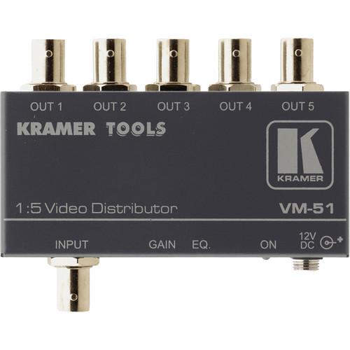 Kramer VM-51 1X5 Video Distribution Amp