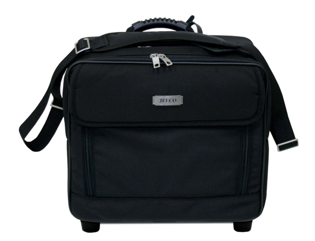 JELCO, JEL-3325ER Executive Roller Bag for Projector & Laptop
