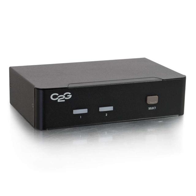 C2G 35572 2-Port DisplayPort + USB + Audio KVM Switch
