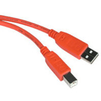 C2G 35668 2m USB 2.0 A/B Cable - Orange