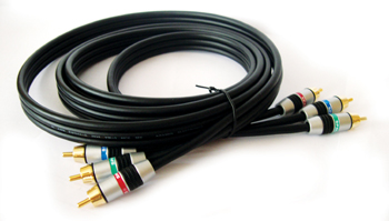 Kramer C-3RVM/3RVM-3 3 ft 3 RCA Component Video Cable