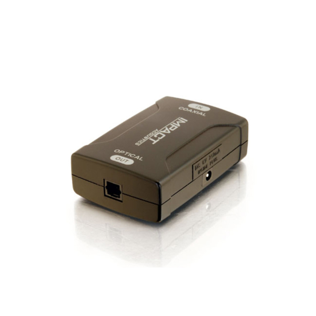 C2G 40018 Coaxial to TOSLINK® Optical Digital Audio Converter
