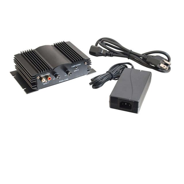 40 Watt Plenum-Rated Stereo Audio Amplifier