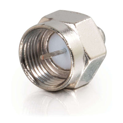 C2G 40675 75 Ohm F-Type Male Terminators - 10pk