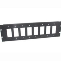 8-Port 3u Decora(R)-Compatible Rack Mounting Bracket
