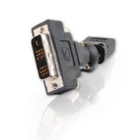 C2G 40931 360 deg. Rotating HDMI Female to DVI-D Male Adapter