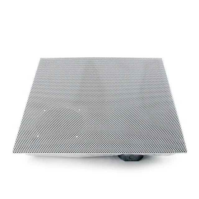 Plenum-Rated 2x2 Drop In Ceiling Speaker - 8 Ohm