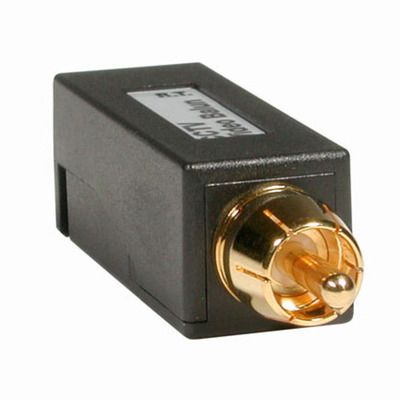 C2G 41157 RCA Male to Toolless IDC Video Balun Cable