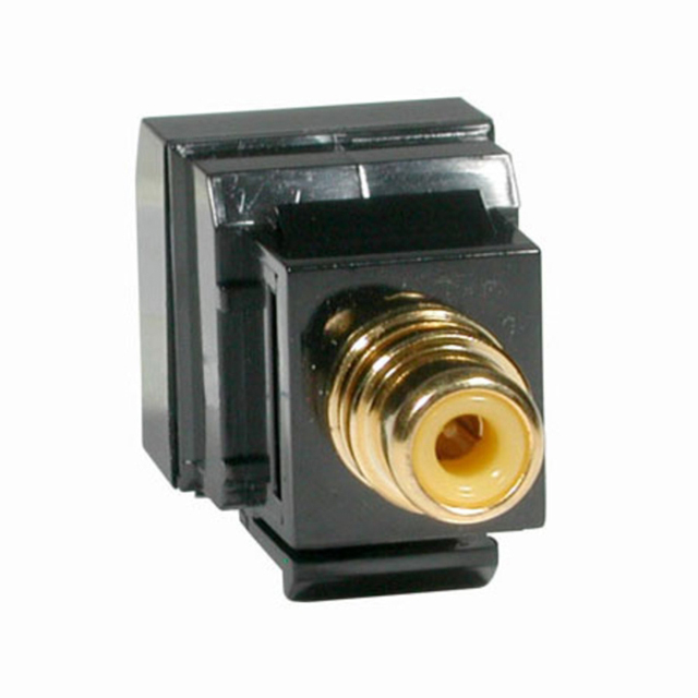 C2G 41160 RCA Female to RJ45 Female Video Balun - Keystone Style